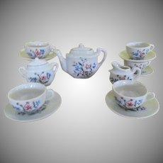 Tea For 6 - 17 Piece Dollhouse Tea Set - b243