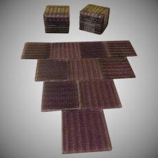 Amethyst Purple Prism Glass Tiles - b246