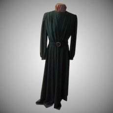 Wearing of the Green Wrap Top Floor Length Gown