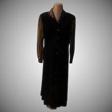 Velvet with Satin Collar Suit