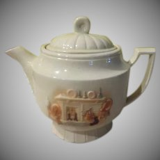 Porcelier Hearth Side Teapot - b246
