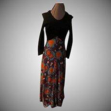 On the Wild Side Black Bodice Dress