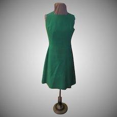 Wrap look Green Dress