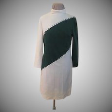 Bias for Green Long Sleeve Skimmer/dress