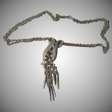 Tassel Trimmed Necklace - Free Shipping