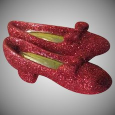 Ruby Red Slippers Pin - Free shipping