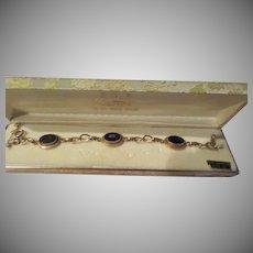 Diamond Accent Gold Tone Bracelet - Free shipping