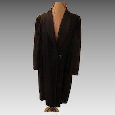 Top Stitched Puffed Design Coat