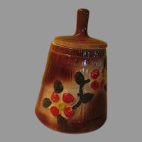 American Bisque Butter Churn Cookie Jar