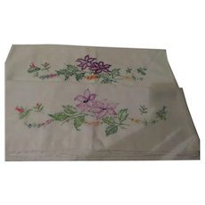 Purple Lilies Pillow Cases - cl2