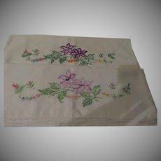 Purple Lilies Pillow Cases - cl2