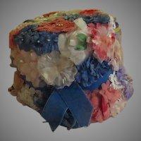 Flowered Bucket Hat