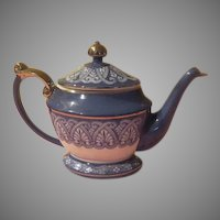 Bombay Blue Teapot - b257