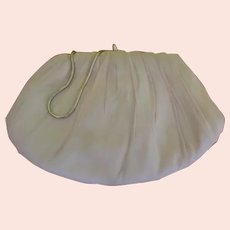 Pale Pink Chiffon Handbag/purse - b255