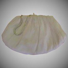 Pale Pink Chiffon Handbag/purse - b255