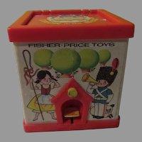 Fisher Price Jack-in-the-box = b257