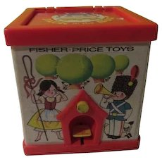 Fisher Price Jack-in-the-box = b257