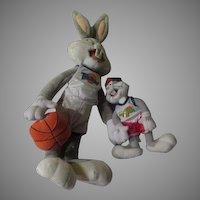 Bugs Bunny Plush with Space Jam Bugs - b252