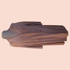 Casual Lightweight Beige Coat