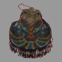 Tree of Life Bag with Fringe - b235