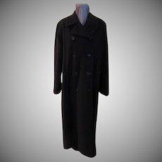 Pea Coat Style Maxi Coat