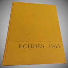 New Trier Township Echoes 1965 yearbook - b256