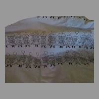 Little Children with Balloons Fabric - b256