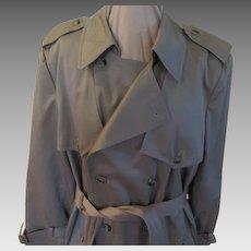 I Spy Men's Trench Coat