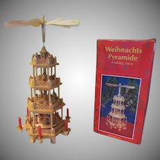 Four Tier Weihnacht's Pyramide Nativity - b