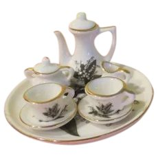 Lily of the Valley Toy Tea Set