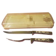 Carvel Hall Overlay Carving Set by Briddell - b258
