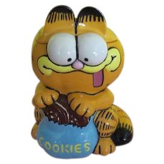 Garfield and Cookies Cookie Jar