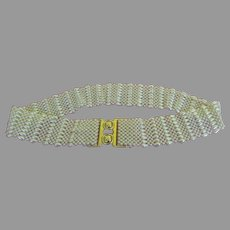Beaded Stretch Belt - b256