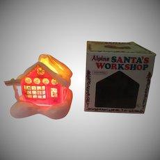 Electrifies Santa's Alpine Workshop - b271