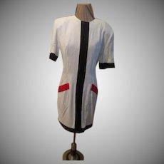 Color Block Dress/skimmer