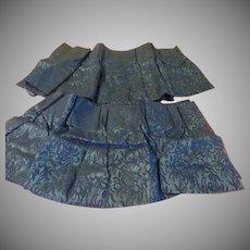 Royally Blue Drapery Valances - b258