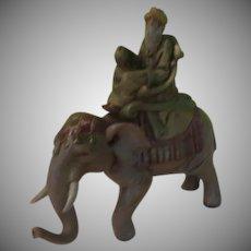 Fontanini Wise Man on elephant - xb18