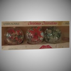 Unbreakable Jewel Brite Christmas tree Ornaments - xb18