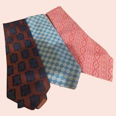Wide Pink, Blue and Royal Tie Wardrobe - Free shipping - b272