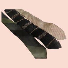 Skinny Stripe, Black and Beige Tie Wardrobe - Free shipping - b272