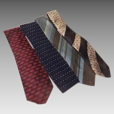 Stripes and Dotted Ties - Free shipping - b272