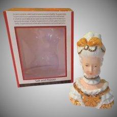 Let Them Eat Cake Marie Antoinette Salt and Pepper Shakers - b270