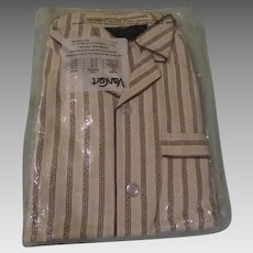 Van Cort All Cotton Flannel Men's Pajamas - b260