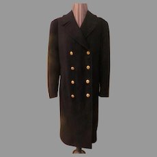 Button to the Left or Right US Navy Academy Coat