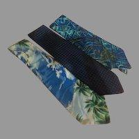Wide Blue Tie Wardrobe - Free shipping - b273