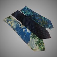 Wide Blue Tie Wardrobe - Free shipping - b273