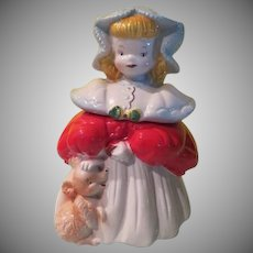 Regal China Goldilocks and Baby Bear Cookie Jar #405