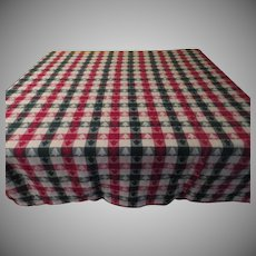 Boxed In Christmas Tree Tablecloth - b262