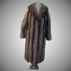 Evans Collection Full Length Coat