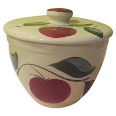 Watt Apple with 3 Leaf Ice Bucket with Lid - g